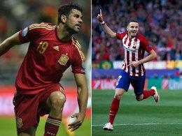 Spanien: Bayern-Schreck Saul dabei, Diego Costa fehlt