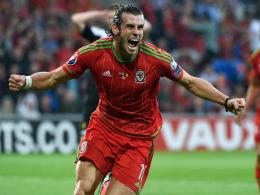 Bale f�hrt die Waliser an