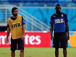 Squadra Azzurra ohne Balotelli und Pirlo