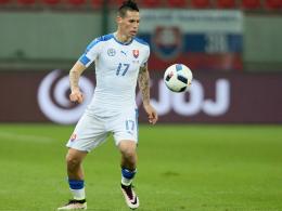 Hamsik f�hrt die Slowaken bei der EM an