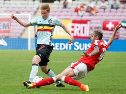 De Bruyne schie�t Belgien in der Schweiz zum Sieg