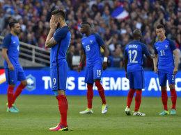 Europameisterlich? Franzosen spielen