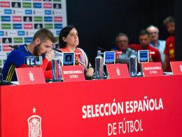 Auch ohne die Nation: Spanier stellen sich vor de Gea