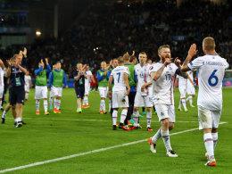 Statistikern und Ronaldo getrotzt: Island lacht