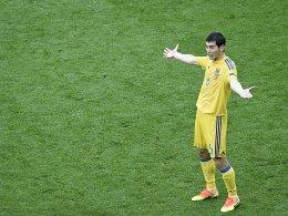 Turnier verhagelt: Ukraine spielt nur noch um die Ehre