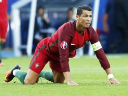 Ronaldo und Co. vor dem ersten Finale