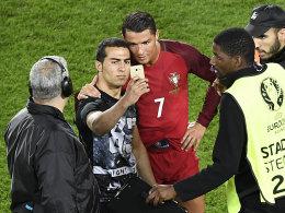 Selfie: UEFA ermittelt gegen Portugal