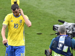 Ibrahimovic beendet Karriere im Nationalteam