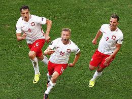 Polen besiegt Ukraine und trifft auf Schweiz