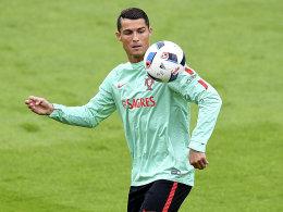 Cristiano Ronaldo tr�gt die Last