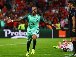 Quaresma-Abstauber bringt Portugal Viertelfinale gegen Polen