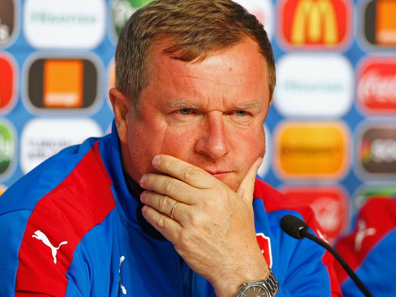 Tschechiens Trainer Pavel Vrba