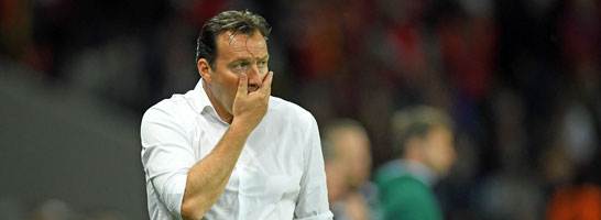 Belgiens Nationaltrainer Marc Wilmots