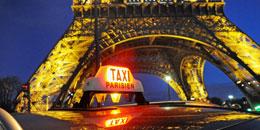 Ein extrem sicherer Taxifahrer in Paris - das ist nicht wenig.