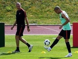 Pepe meldet sich startklar