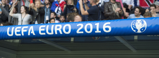 Positive und negative Seiten: Die UEFA Euro 2016 in Frankreich.