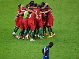Held Eder: Portugal ist Europameister!