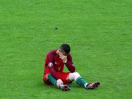 EM-Titel als Trost: Ronaldos Tr�nen-D�j�-vu
