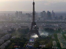 Krawalle am Rande der Pariser Fanzone