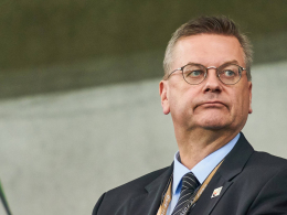 DFB-Präsident Grindel vor EM-Vergabe mit Türkei-Kritik