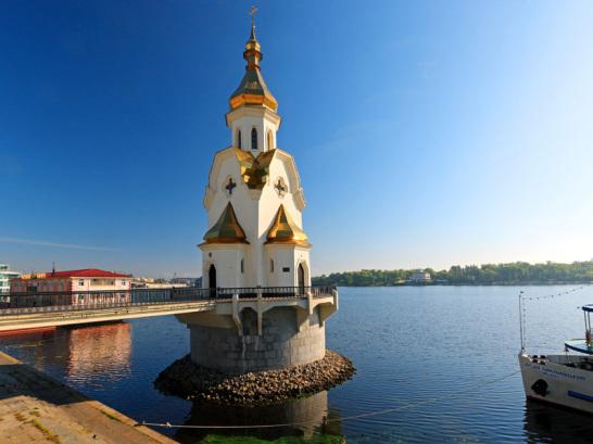 Nicht nur das Landschaftsbild Kiews wirkt einladend: Neben den Seen und Fl�ssen rund um die Stadt, gibt es auch jede Menge Sehensw�rdigkeiten aus der Geschichte der Hauptstadt zu besichtigen.
