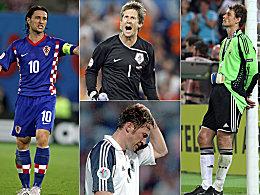 Niko Kovac, Edwin van der Sar, Lothar Matth�us und Jens Lehmann.