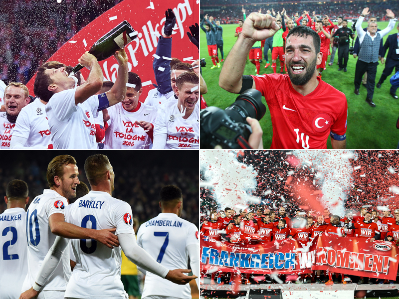 Diese Teams fahren zur EM 2016 nach Frankreich