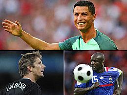 Nr. 17 - Cristiano Ronaldo ist der EM-K�nig