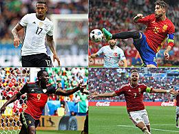 Deutschland zweimal Erster: Ausrei�er der Gruppenphase