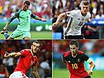 Cristiano Ronaldo, Toni Kroos, Gareth Bale und Eden Hazard.