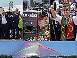 Die Rückkehr des Europameisters in Bildern