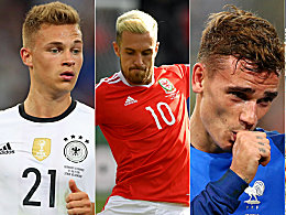 Elf Spieler, vier L�nder: Die UEFA-Mannschaft der EM