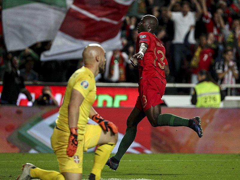 Volles Pfund: Danilo Pereira bejubelt sein soeben erzieltes 1:1.