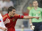 Spaniens Torjäger David Villa