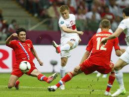 Jakub Blaszczykowski erzielt das 1:1