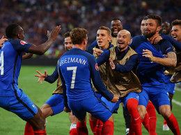 Griezmann k�pft Frankreich ins Achtelfinale
