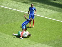 Doppelpacker Griezmann erl�st Frankreich