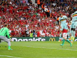 Hazard entscheidet Belgiens Spiel mit dem Feuer
