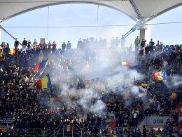 Rumänien wegen Rassismus-Vorfällen einmal ohne Fans