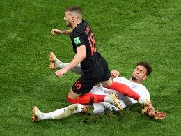 England gegen Kroatien: Mal wieder Showdown