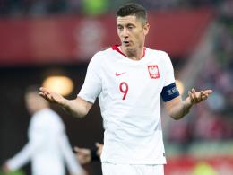 Knieprobleme: Lewandowski reist vorzeitig ab