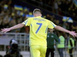 Yarmolenkos Elfmeter beschert Ukraine zweiten Sieg