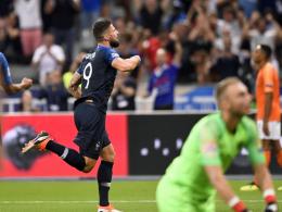 Giroud antwortet nach über 800 Minuten - und überholt Zidane