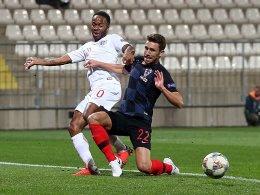 0:0 - Kroatien und England ohne letzte Konsequenz