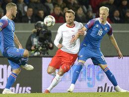 Seferovic und Lang besiegeln Islands Abstieg