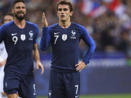 Doppelter Griezmann lässt DFB-Team wieder leer ausgehen