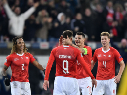 5:2 nach 0:2! Furiose Schweiz stürmt zum Gruppensieg