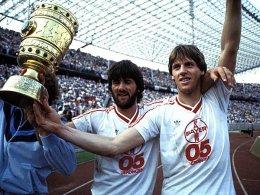 Friedhelm und Wolfgang Funkel