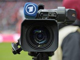 Alles im Blick: Fernsehkamera der ARD.