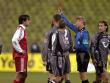 Michael Ballack erhielt im Spiel gegen Hannover 96 eine Gelb-Rote Karte.